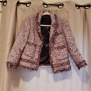 Channel like jacket by zara